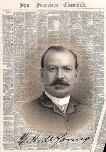 Michael H. de Young, 1885