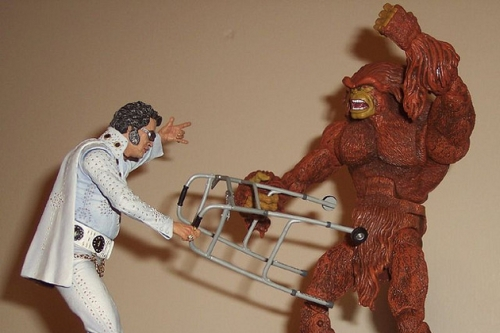 BIGFOOT AND ELVIS HAVE LEFT THE BUILDING