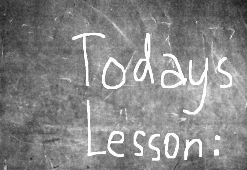 blackboard-todays-lesson