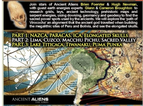 Ancient Aliens: Where was the Border Patrol when we needed them?