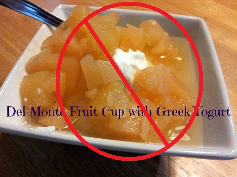 No fruit cup for bigfoot