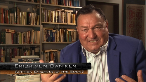 Erich von Daniken sighting !!