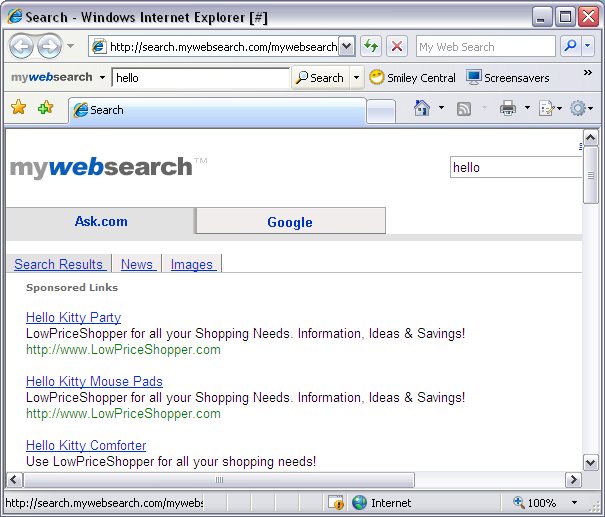 Removing My Web Search from your Firefox navigation bar in