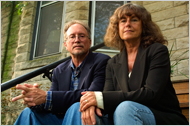 Bill Ayers and Bernadine Dohrn