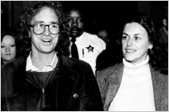 Bill Ayers and Bernadine Dohrn in the 80's