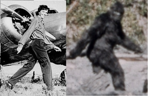 guy who endorsed Bigfoot also endorses claims of finding Amelia Earhart's plane