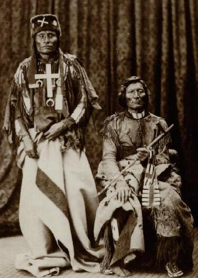 Little Wolf and Dull Knife, Northern Cheyenne chiefs